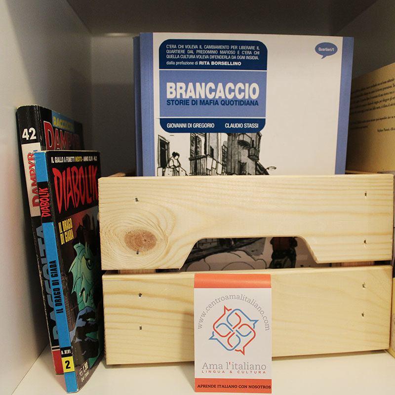 Biblioteca en italiano
